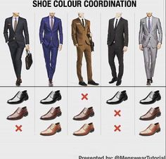 NxStyle (We talk about different shoe style all the time. Mens Fashion Blog, Mens Fashion Suits, Mens Suits, Gentleman Mode, Gentleman Style, Suit Fit Guide, Blue Suit Men, Suit Shoes, Men Style Tips