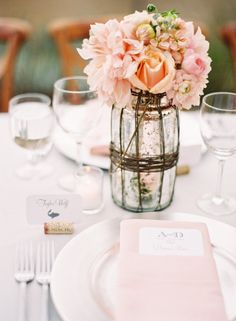 Gorgeous centerpieces