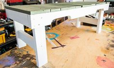 Home & Family - Tips & Products - Mark's DIY Pallet Bench | Hallmark Channel