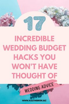 The beauty about these clever money saving wedding tips is that they are so easy to put in place. The cost of your wedding won't escalate when you can put these wedding budget plans in place. #weddingbudget #budgetweddingplanning #weddingbudgetadvice