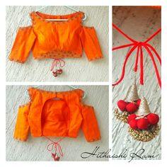 Saree Blouse Patterns, Designer Blouse Patterns, Saree Blouse Designs, Blouse Styles, Lehenga, Sarees, Blouse Tutorial, Blouse Back Neck Designs, Fashion Blouses