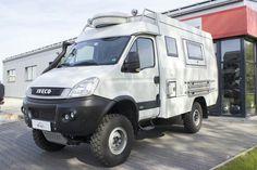Daily 4x4 4x4 Camper Van, 4x4 Van, Car Camper, Camper Caravan, Camper Trailers, 4x4 Trucks, Rv Truck, Truck Camping, Iveco Daily Camper
