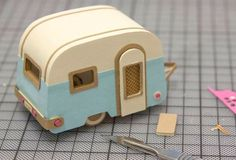 Build Your Own Caravan. Cute tutorial.. build your own little camper trailer for decoration.  paint it to match your own camper (if you have one. :)