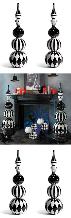 Festive Harlequin Fête Halloween Party Decorating & Ideas