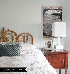 A Guest Room Update   Copy Cat Chic #LowesCreator