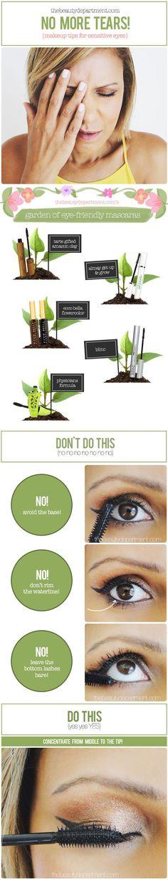 Makeup tips for sensitive eyes!