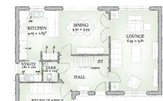 Redrow Balmoral Redrow Homes, Floor Plans, Lounge, Dining, Kitchen, Ideas, Airport Lounge, Drawing Rooms, Food