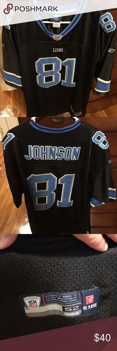 calvin johnson black jersey