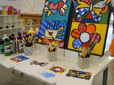 Activities at a Art Party #art #partyactivities