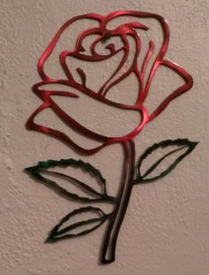 Metal Rose Wall Art Chopper Motorcycle Metal Wall Art  Metal Art  Motorcycle Biker