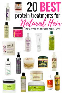 20 Best Protein Treatments For Your Natural Hair Regimen