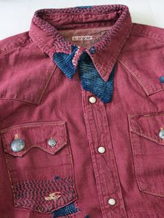 WEB SHOP - KAPITAL  Denim Western Shirt Collar