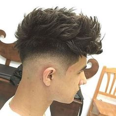Low Taper Fade and Shape Up with Quiff