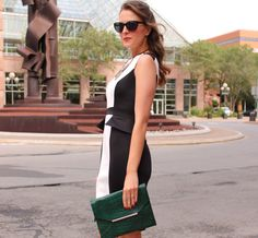 Kimberyly of PPF in the LT Color Block Peplum!