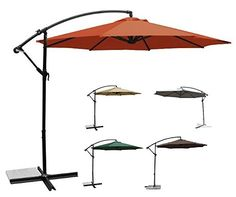 USH Deluxe 10 Ft Offset Cantilever Hanging Patio Umbrella Freestanding Outdoor Parasol Adjustable Market Umbrella 250g/sqm Polyester (Terracotta) For Sale https://patioumbrellasusa.info/ush-deluxe-10-ft-offset-cantilever-hanging-patio-umbrella-freestanding-outdoor-parasol-adjustable-market-umbrella-250gsqm-polyester-terracotta-for-sale/