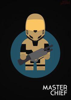 John Sideris et ses affiches minimalistes de Personnages de jeux-vidéo 3d Design, Flat Design, Video Game Art, Video Games, Pop Art, Geek Art, Illustrations, Geek Culture, Super Mario Bros