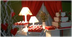 Casamento Vermelho e Branco Perfil Provence