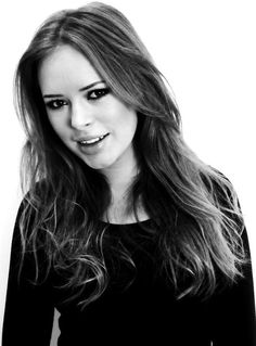 Tanya Burr...British, ADORABLE, fabulous taste in fashion, and all-around MAKE-UP genius! Love her tutorials on YouTube!
