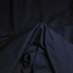 Navy knit jersey
