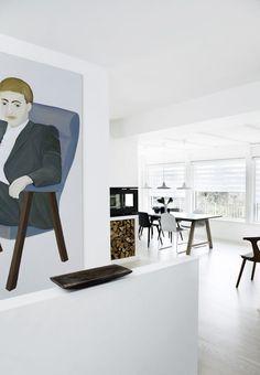 Køkken med mere plads til samvær | Bobedre.dk Breakfast Nook, Dining Area, Plads, Interior, Room, Inspiration, Furniture, Home Decor, Bedroom