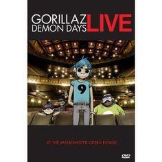 Siempre he querido ir a un concierto de Gorillaz, y como no creo que lo vaya a conseguir, un concierto en DVD sirve de consolación.