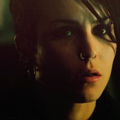 Noomi Rapace as Lisbeth Salander.  Original badass.