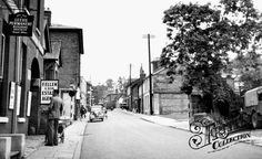Old photo of London Street c1950, Andover