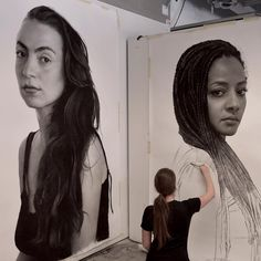 Supreme Portrait Drawing with Charcoal Ideas. Prodigious Portrait Drawing with Charcoal Ideas. Hyper Realistic Paintings, Realistic Drawings, Cool Drawings, Charcoal Portraits, Charcoal Drawings, Charcoal Artists, Compressed Charcoal, Hyperrealistic Drawing, Artist Pencils