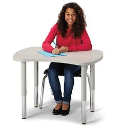Set of 4 Berries Collaborative Table Mobility Kit in Gray
