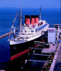 RMS Queen Mary, Docked at Longbeach