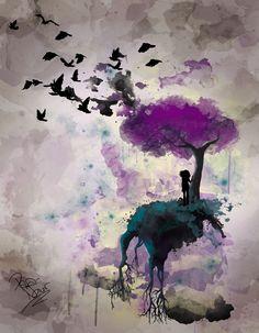 Migratory birds by Mad-Milliner.deviantart.com on @deviantART