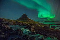 Aurora Borealis - Kirkjufell, Iceland