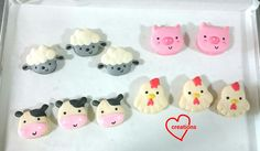 Loving Creations for You: Barnyard Animals Assorted Macarons