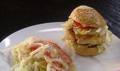 Gezonde kippenburgers