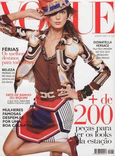 Daria Werbowy by Steven Meisel Vogue Portugal June 2005