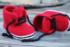 Crochet Shoes for Baby Boys Chase Street Boot di Inventorium, $6.40