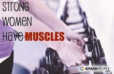 Cardio is great, but strength training has SO MANY benefits, too. Don't be afraid to use those weights, ladies!