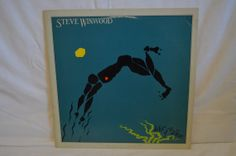 Vintage Record Steve Winwood Arc of a Diver by FloridaFinders, $6.00