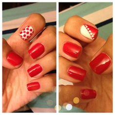 Because two nail designs are better than one! Us Nails, Nail Ideas, Nail Designs, Beauty, Nail Desings, Beauty Illustration, Nail Design, Nail Art Ideas, Nail Organization