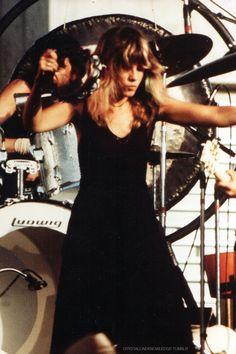 "crystallineknowledge: "" ""Stevie Nicks || Fleetwood Mac Live, 1976 "" HQ scan: X """