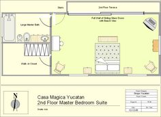 first floor master bedroom addition pictures | House Plans with Master Bedroom Private Decks Page 1 at Westhome