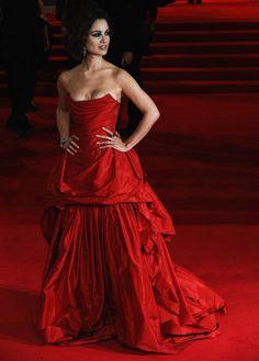 Berenice Marlohe wearing Vivienne Westwood at Skyfall premiere -- LOVE LOVE