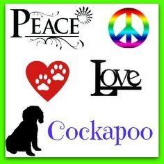 #Peace #Love #Cockapoo
