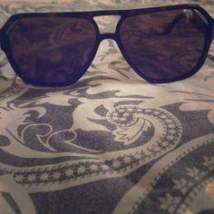 DOLCE & GABBANA Sunglasses  Brown sun glasses with gold detailing Dolce & Gabbana Accessories Sunglasses