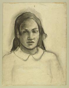 Paul Gauguin : Heads of Tahitian Women Paul Gauguin, Gauguin Tahiti, Unique Paintings, Oil Paintings, Feminine Mystique, Impressionist Artists, Fauvism, Art Institute Of Chicago, Henri Matisse