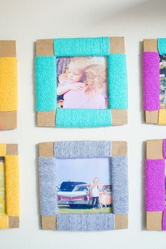 1001 ideen wie sie einen originellen bilderrahmen selber machen geschenk selber machen. Black Bedroom Furniture Sets. Home Design Ideas