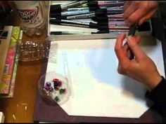"""Plastic beads from plastic bottles -- cool effect!   I like this video....she has a lot of creative energy and the video moves along quickly without a lot of the """"introspective pausing"""" that so many craft videos have."""