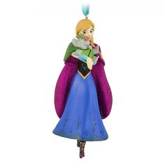 Our Anna ornament comes to your home for the first time in forever. Dress the holiday tree with this daring sister from Disney's Frozen. Disney Christmas Ornaments, Frozen Christmas, Christmas Crafts, Mickey Mouse And Friends, Disney Mickey Mouse, Disney Duos, Resort Logo, Disney World Theme Parks, Disney Plush
