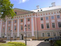 Uniwersytet w Dorpacie Estonia, gdzie Marcin Cumft studiował teologię w połowie XIX wieku