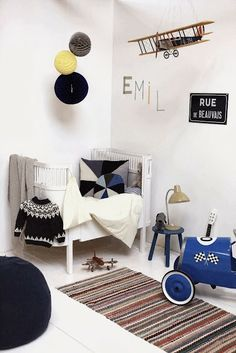 #eclectic kids' rooms